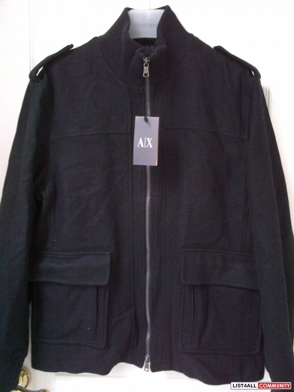 Armani Exchange zip up BNWT**