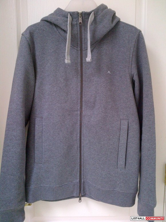 J. Lindeberg Jim Soft zip up BNWOT**