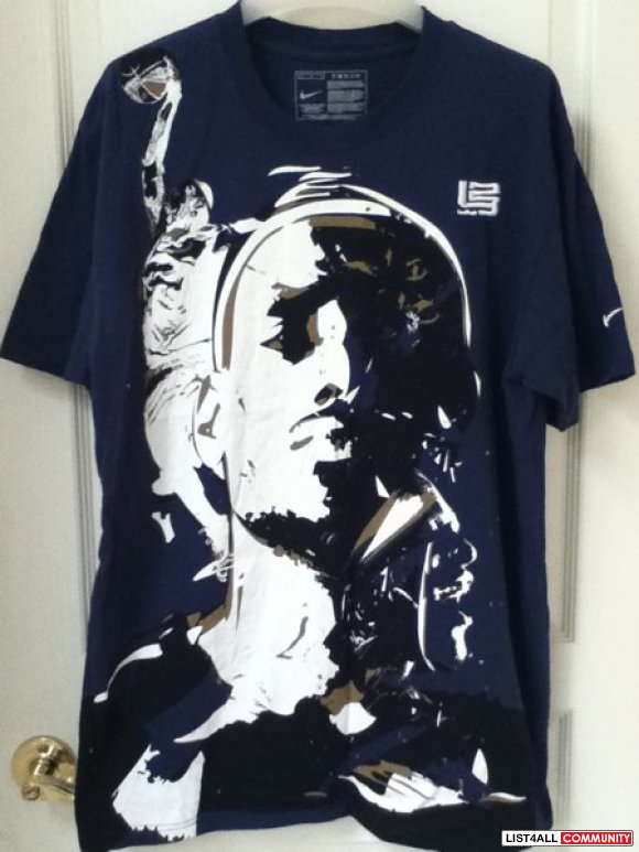 Nike lebron james tshirt NEW**