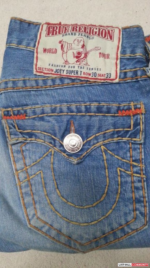 True Religion Joey Super T