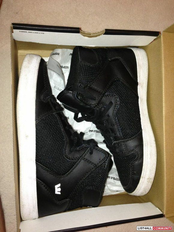Supra Vaider Hi-Tops shoes NEW**