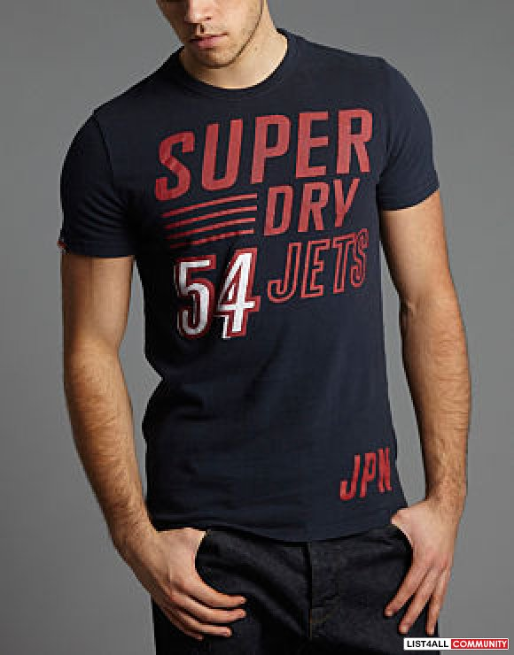 "Superdry 54 Jets tee ""Tin Tab edition"""