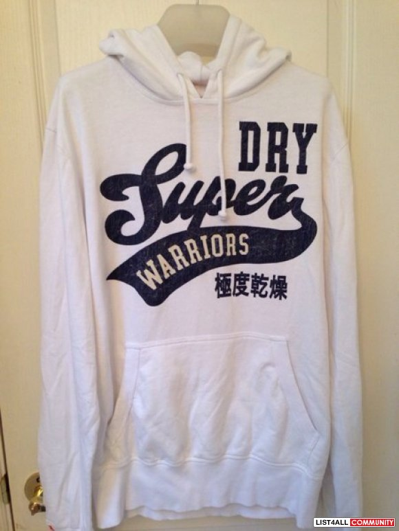 Superdry Warriors pullover BNWOT**