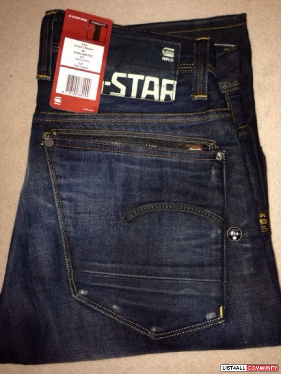 G-star attacc straight in ' travis wash ' BNWT**