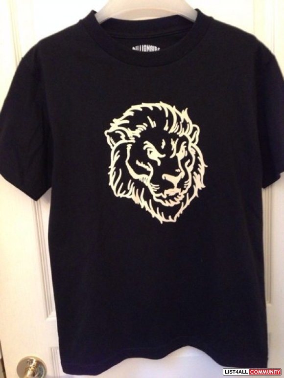 Billionaire Boys Club BBC Lion Tee BNWT**