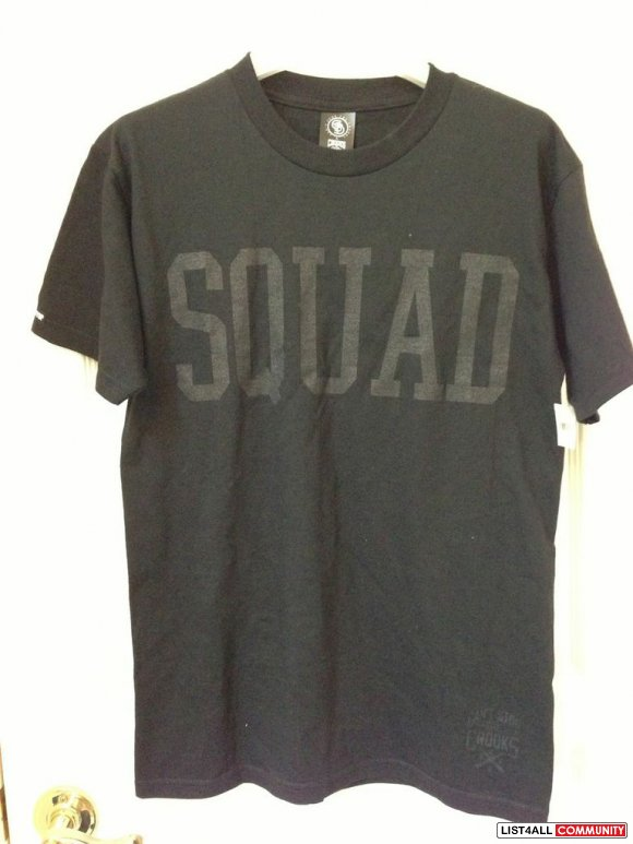 Crooks and Castles SQUAD tee BNWT**