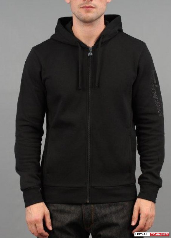 Emporio Armani EA7 Train Big Logo Zip Jacket