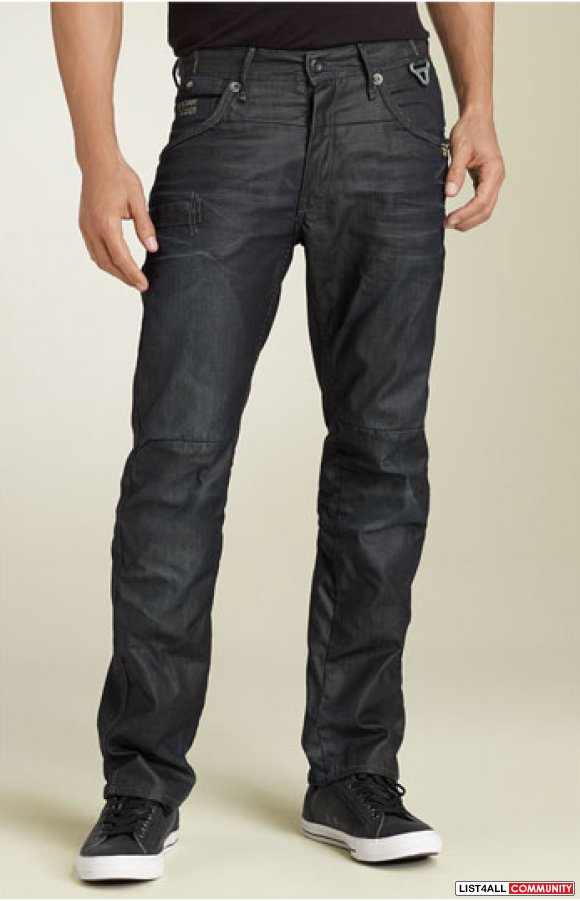 G-star 'Raff Jack' Relaxed Straight Leg Jeans (3D Raw Wash) NEW**