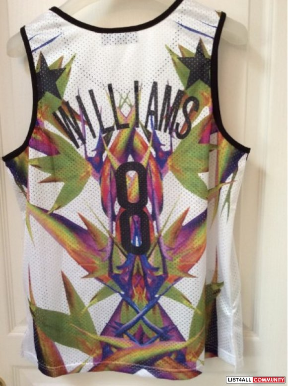 Givenchy Deron Williams Jersey BNWOT**