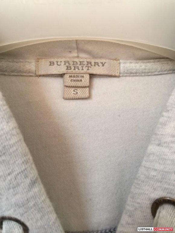 Burberry Elbow checkered hoodie