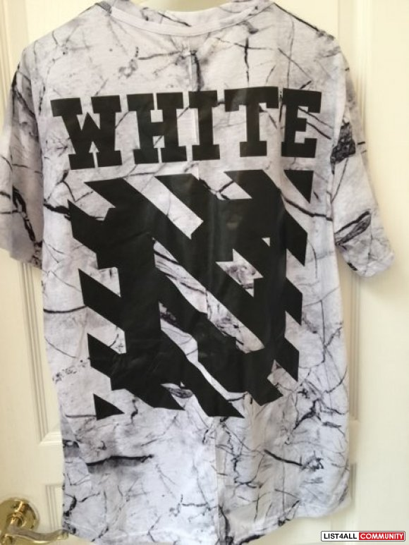 OFF White tee by Virgil abloh **BNWT