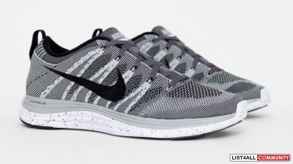 Nike flyknit one wolf grey runners US 9