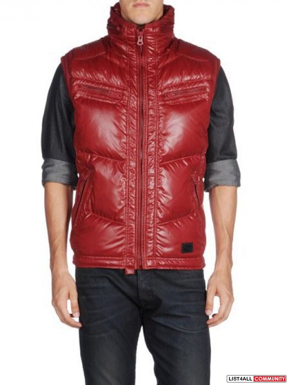 Diesel warbo down vest NEW