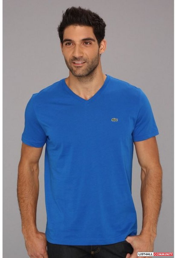 Lacoste vneck new