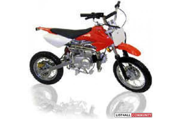 110CC DIRT BIKES 4 SPEED STANDARD