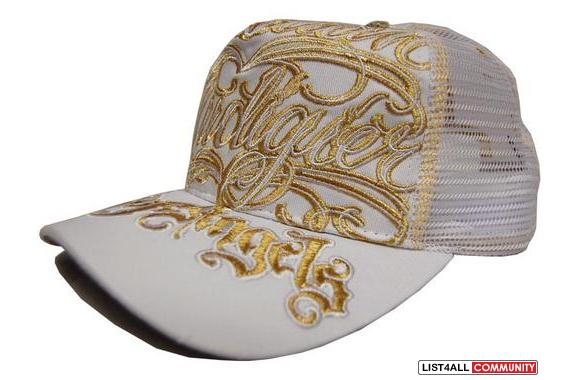 Brand New Christian Audigier City of Angels Hat w tags attached ... 01d404ff168