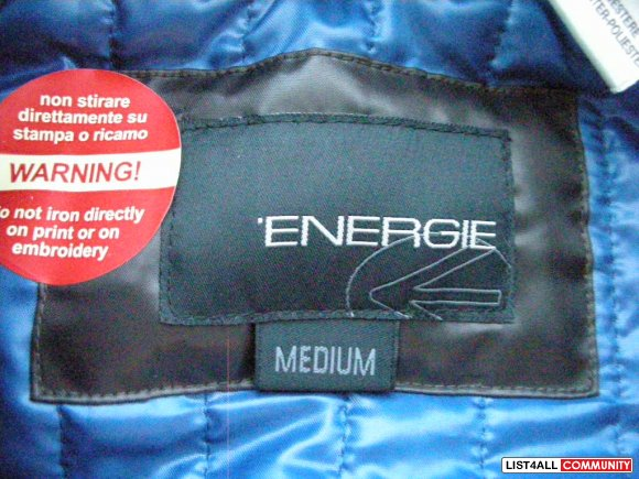"NEW PRICE FOR CHRISTMAS Authentic Men's Energie ""Chico"" Jacket"