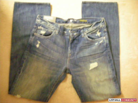 Authentic BNWT Men's 7 For All Mankind