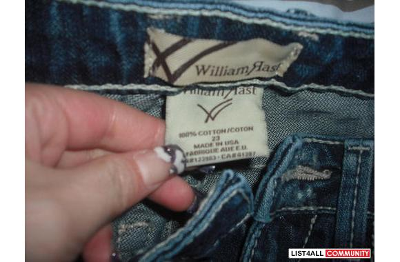 Brand new without tag William rast jeans