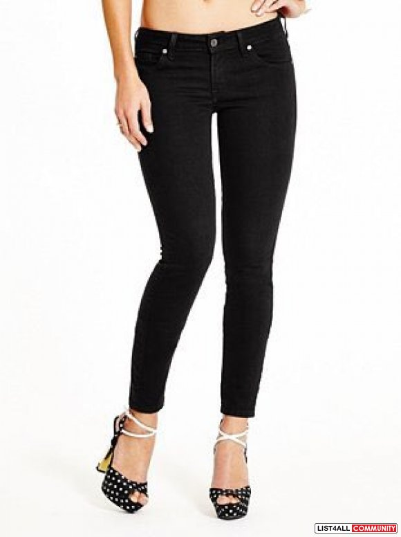 Bnwt guess black skinnies size 24