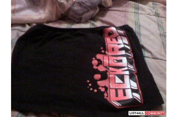 xs ecko red tub top
