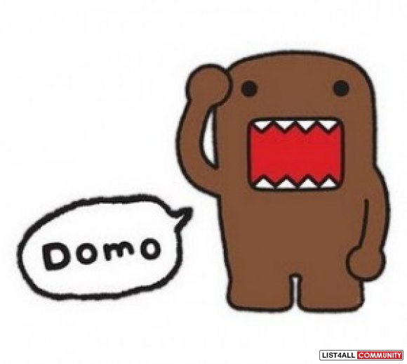 ONE BIG DOMO KUN STUFFIES