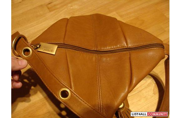 Brown Tignanello shoulder bag