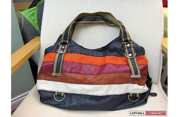 Colourful Stripped Bag