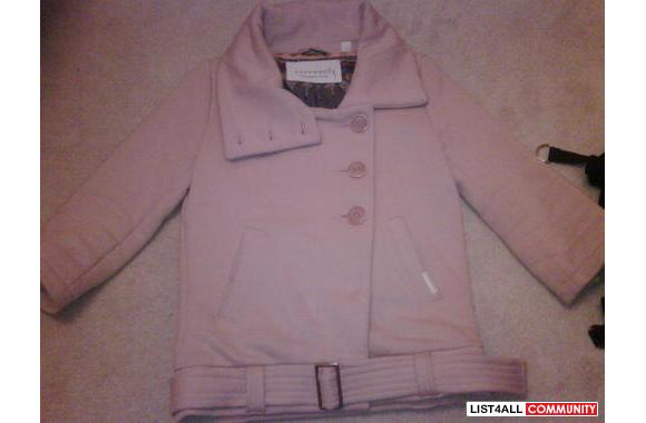BRAND NEW IVORY COMMUNITY JACKET IN XS