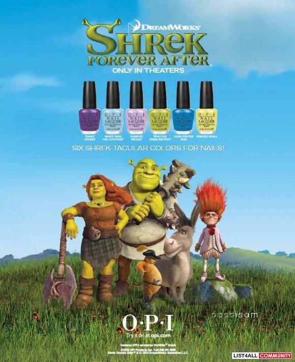 OPI Funky Dunkey (Shrek Collection)