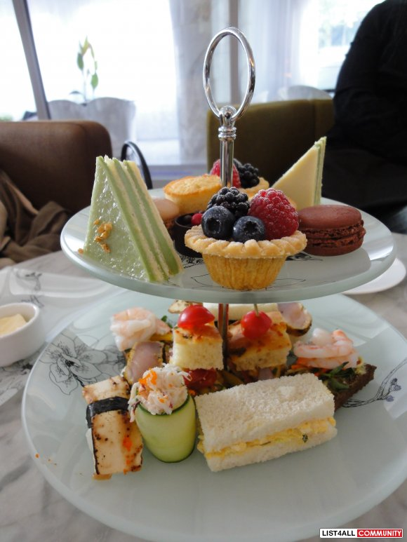 $35 for Afternoon Tea for Two at The Fairmont Pacific Rim (Value $70)