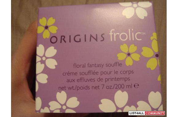Origins Frolic Floral fantasy Souffle body Cream: