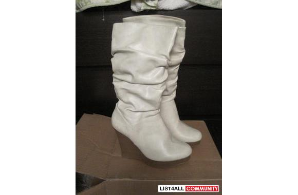 New 5inch wedge boot