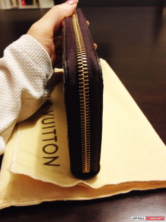 Louis Vuitton Zippy Wallet Amarante - Retail $920 plus tax