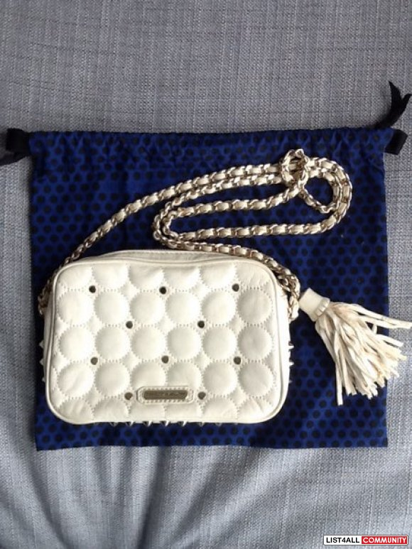Rebecca Minkoff Polka Dot Quilted Flirty Bag (Retail $250 US)