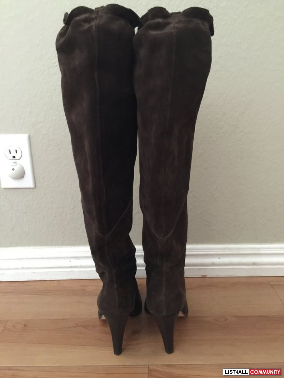 Michael Kors Olivia Suede  Boots - size 7 (retail $249 US)