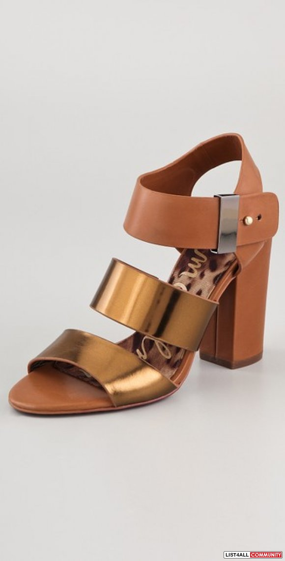 Sam Edelman Yelena High Heel Sandals - 7 (Retail $140 US)