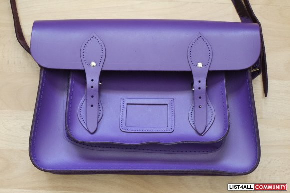 "Authentic Cambridge Satchel 15""  - NOW $100"