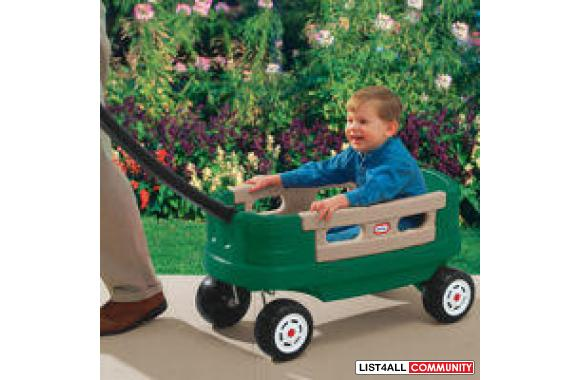 Step2 Step 2 Wagon for Two Plus Willow Green. $ $ 69 98 Prime ( days) FREE Shipping on eligible orders. out of 5 stars Little Tikes Lil' Wagon – Amazon Exclusive. $ $ 26 99 Prime. FREE Shipping on eligible orders. Manufacturer recommended age: 1 Year 6 Months - 4 Years. Show only Little Tikes items. out of 5.
