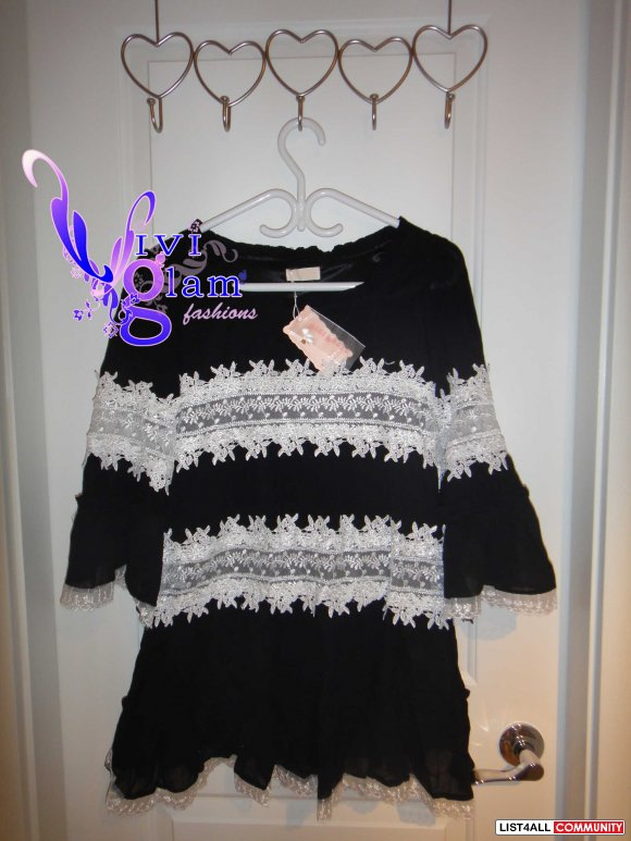 Black Tunic Dress, from Japan