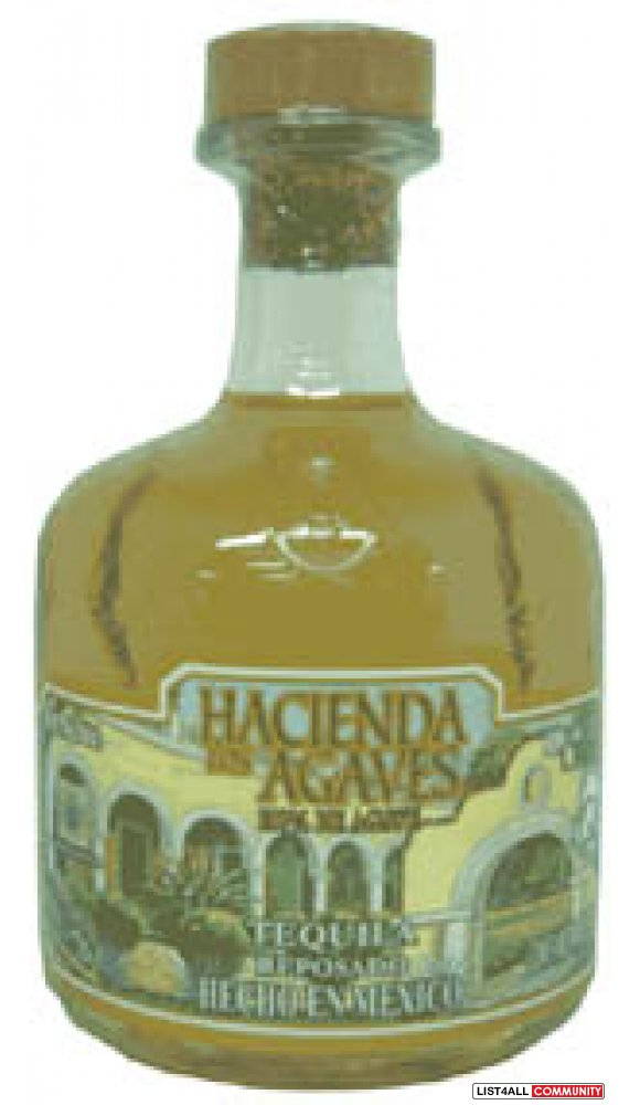 ONE LOT OF TEQUILA HACIENDA LOS AGAVES