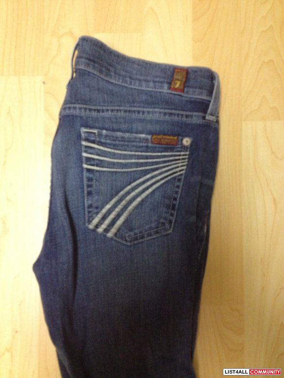 Seven for All Mankind Dojo Bootcut Jeans