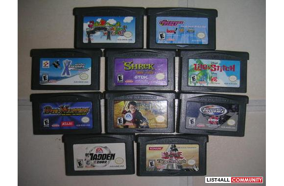 Gba dating games list