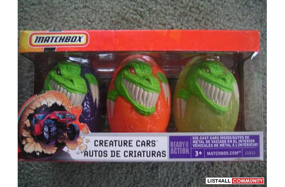 Matchbox Creature Cars-Made by Mattel 2005