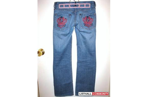 FCUK Jeans. Seriously these jeans make the bum look fantastic and juic