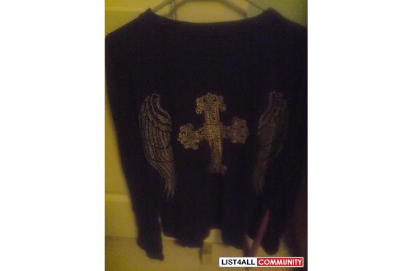 Angel Wings/Cross Shirt