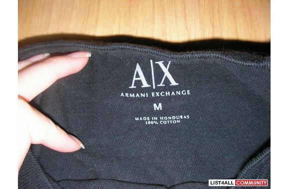 Ax Ax i Shirt Exchange T Armani Love Cheapitems4sales Black S0xSfwzr