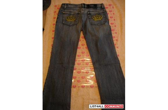 Authentic Victoria Beckham Yellow Crown (R&R) Jeans