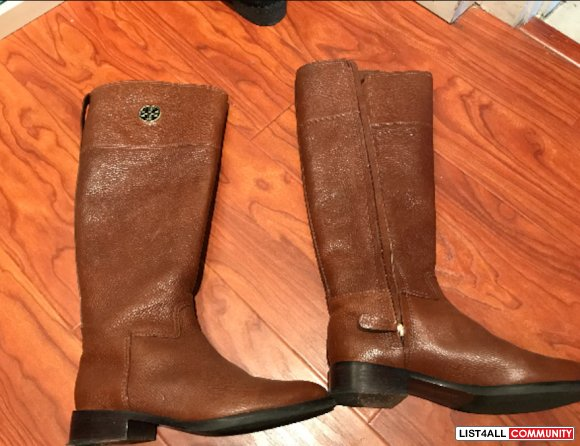 Tory burch junction riding boot - size 7.5