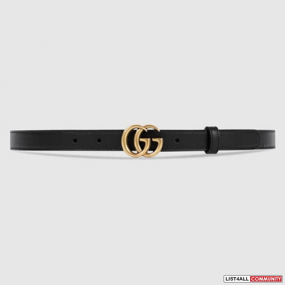 Authentic Gucci Marmont belt - thin